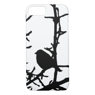 Bird on a Branch of Tree iPhone 7 Case