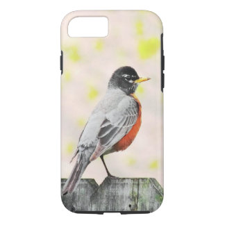 Bird on a Fence iPhone 7 Case