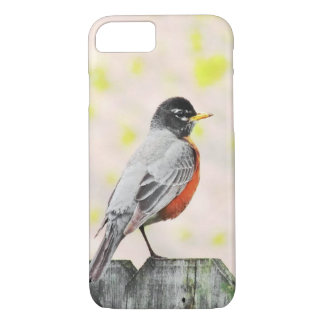 Bird on A Fence Phone Case
