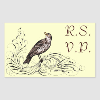 Bird on a Scroll (Brown)