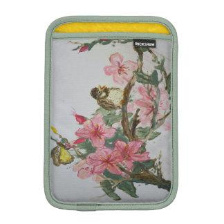 Bird on Blossoms iPad Mini Sleeves