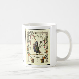 Bird on Swing 15 oz. Coffee Mug