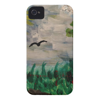 Bird on the Meadow Case-Mate iPhone 4 Cases