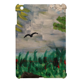 Bird on the Meadow iPad Mini Covers