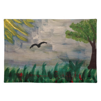 Bird on the Meadow Placemat