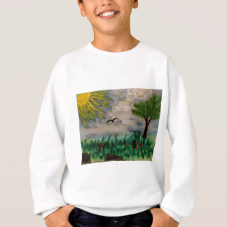 Bird on the Meadow Sweatshirt