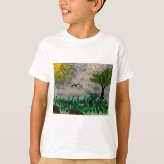 Bird on the Meadow T-Shirt