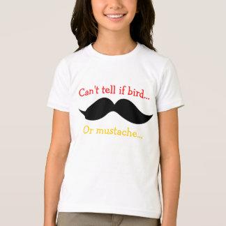 'Bird or Mustache' T-Shirt