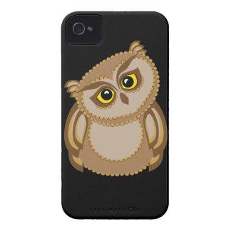 bird owl 2 iPhone 4 cases