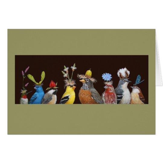 bird party card