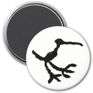 Bird Petroglyph - Petrified Forest, Arizona Magnet