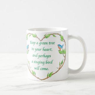 bird proverb mug