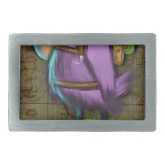 Bird Rectangular Belt Buckles