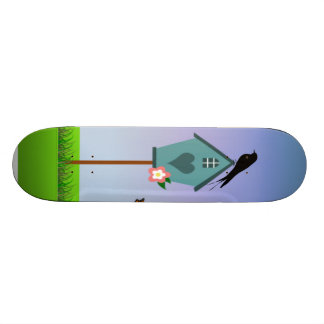 Bird Scene Custom Skateboard