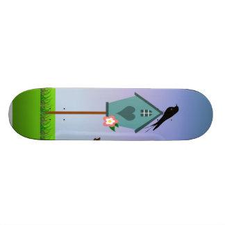 Bird Scene Custom Skateboard