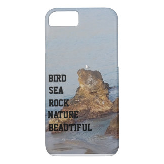 BIRD SEA ROCK NATURE BEAUTIFUL iPhone 8/7 CASE