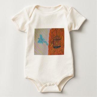 Bird Set Free Baby Bodysuit