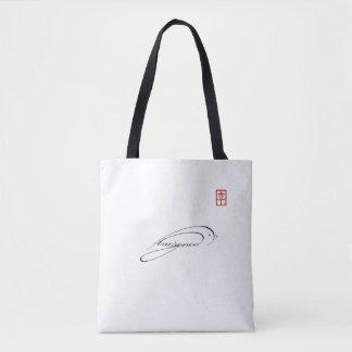Bird sign Tote bag