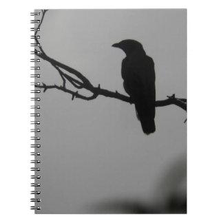 Bird silhouette notebook