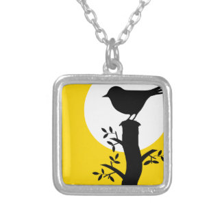 Bird Silver Plated Necklace