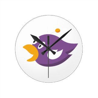 bird singing and shouting wall clocks