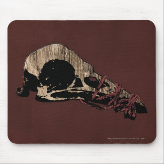 Bird Skull Mouse Pad