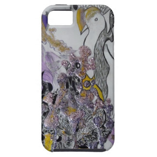 Bird Snakes and Woman Design iPhone 5 Covers