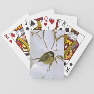 Bird Snow Classic Playing Cards