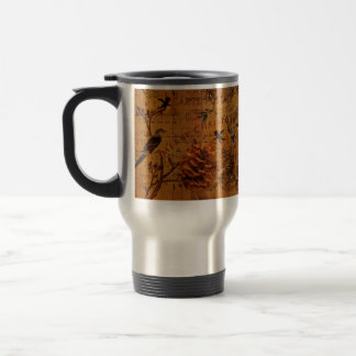 Bird Song Christmas Coffee Mugs