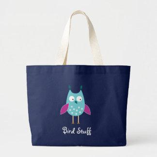 Bird Stuff Tote Bag