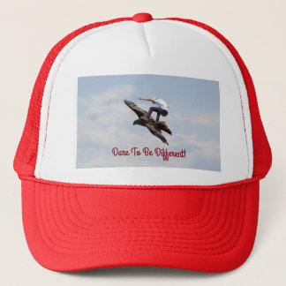Bird Surfing Trucker Hat