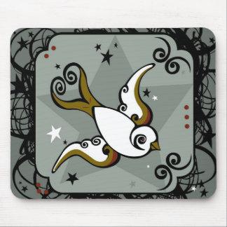 Bird Tattoo Mousepad