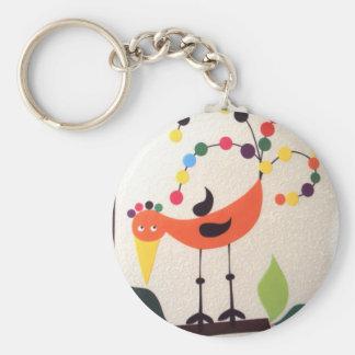 bird the colors keychain