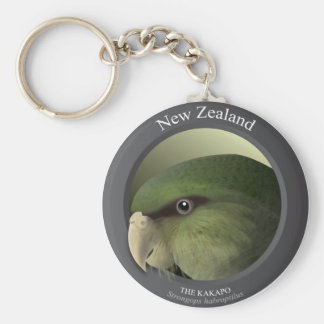 Bird - THE KAKAPO Keychain