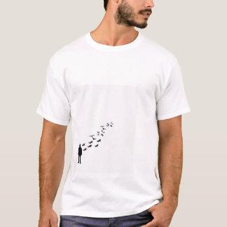 bird to man T-Shirt