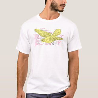 bird topography T-Shirt