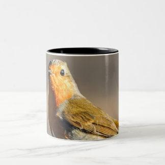 Bird Two-Tone Coffee Mug