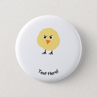 Bird Very Upset 2 Inch Round Button