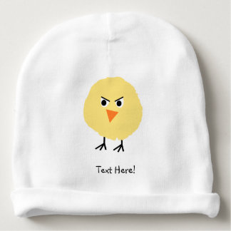 Bird Very Upset Baby Beanie