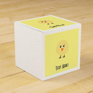 Bird Very Upset Favor Box
