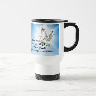 Bird, Visitor from Heaven Travel Mug