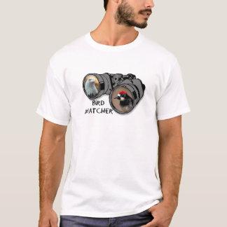 Bird Watcher Design w/Eagle & Woodpecker T-Shirt