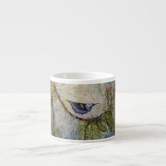Bird Watercolor Art Espresso Cup