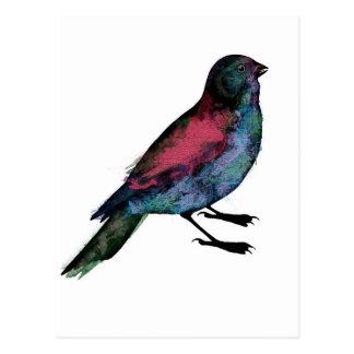 Bird Watercolour Postcard