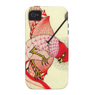 bird with arrow iPhone 4 cover