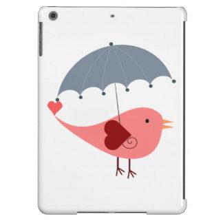Bird with Umbrella Case For iPad Air