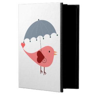 Bird with Umbrella iPad Air Cases