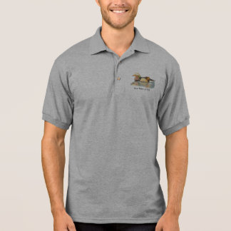 Bird, Wood Duck Custom Logo Name or Business Polo Shirt
