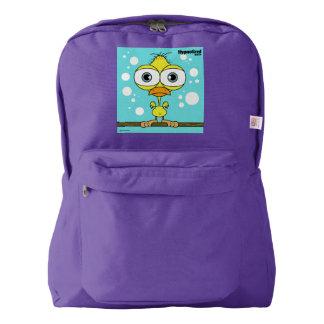 Bird(Yellow) Backpack, Amethyst Backpack
