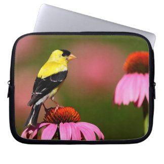 Bird yellow_funda computer sleeve
